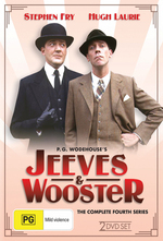 Jeeves & Wooster - The Complete 4th Series (2 Disc Set) on DVD