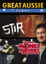 Great Aussie Icons - Bryan Brown (Stir / Money Movers) (2 Disc Set) on DVD