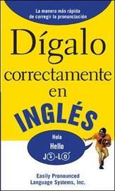DIGALO CORRECTAMENTE EN INGLES by EPLS