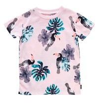 Bonds Short Sleeve Jersey T-Shirt - Toucan Party (3-6 Months)