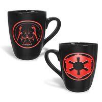 Star Wars Etched Mug - Darth Vader Logo