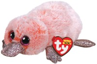 Ty Beanie Boo: Pink Platypus - Small Plush