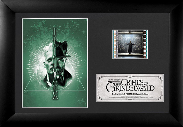 FilmCells: Mini-Cell Frame - Fantastic Beasts 2 (Grindelwald & Dumbledore)