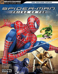 """Spider-Man: Friend or Foe"" Official Strategy GGuide by Jennifer Sims image"