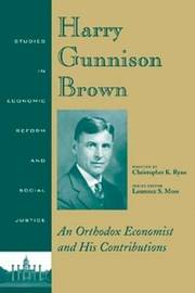 Harry Gunnison Brown by Christopher K. Ryan image