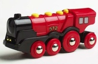 Brio Railway - Mighty Red Locomotive