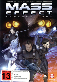 Mass Effect: Paragon Lost on DVD