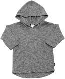 Bonds Hoodie Tee - Black & White (18-24 Months)