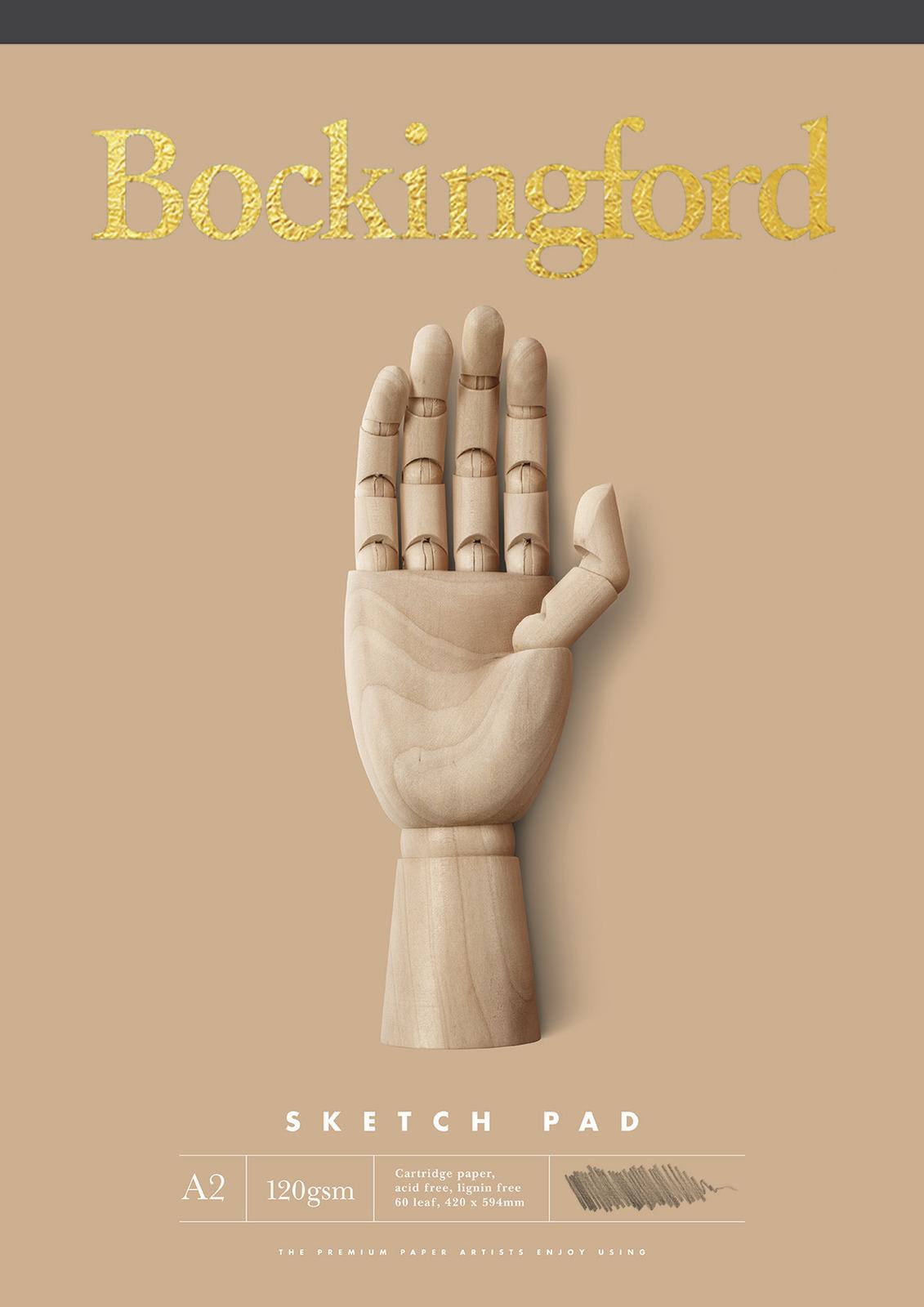 Bockingford: A2 B.21 Sketch Pad image