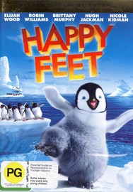 Happy Feet on DVD image
