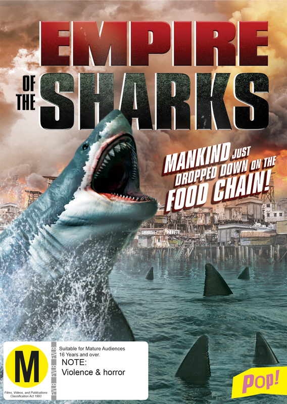 Empire of the Sharks on DVD