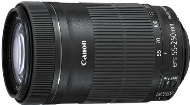 Canon EF-S 55-250mm F/4-5.6 IS STM EF-S Mount Lens