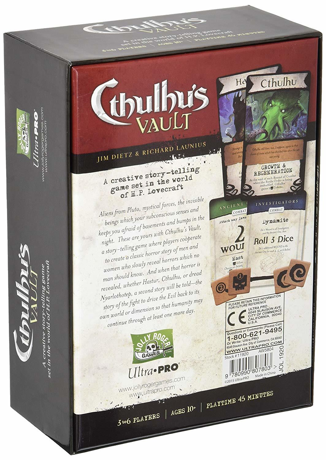 Cthulhu's Vault - A Cooperative Story Telling Game image