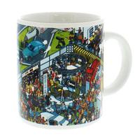 Top Gear - Where's Stig Studio Scene Mug