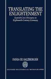 Translating the Enlightenment by Fania Oz-Salzberger image