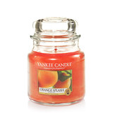 Yankee Candle Medium Jar - Orange Splash (411g)