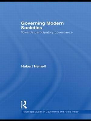 Governing Modern Societies by Hubert Heinelt image
