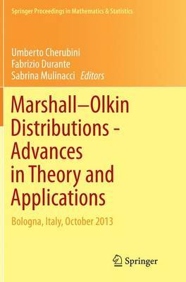 Marshall Olkin Distributions - Advances in Theory and Applications image