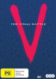 V The Final Battle on DVD