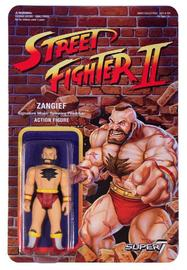 "Street Fighter II: Zangief - 3.75"" Retro Action Figure"