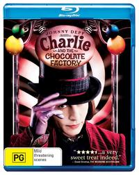 Charlie and the Chocolate Factory (2005) on Blu-ray