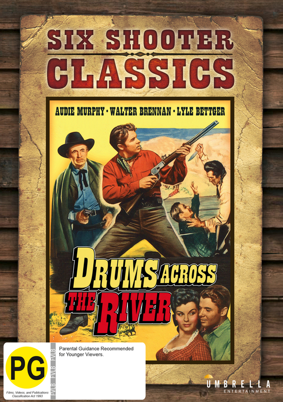 Drums Across The River (Six Shooter Collection) on DVD