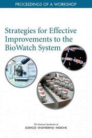 Strategies for Effective Improvements to the BioWatch System by National Academies of Sciences Engineering, and Medicine image