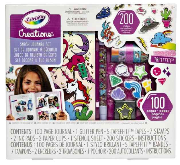 Crayola: Creations - Smash Journal Kit