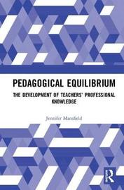 Pedagogical Equilibrium by Jennifer Mansfield