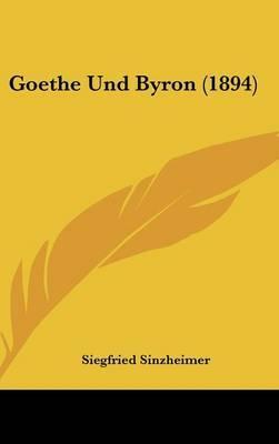 Goethe Und Byron (1894) by Siegfried Sinzheimer image