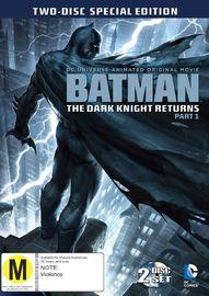 Batman: The Dark Knight Returns - Part 1 on DVD