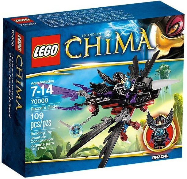 LEGO Legends of Chima - Razcal's Glider (70000) image