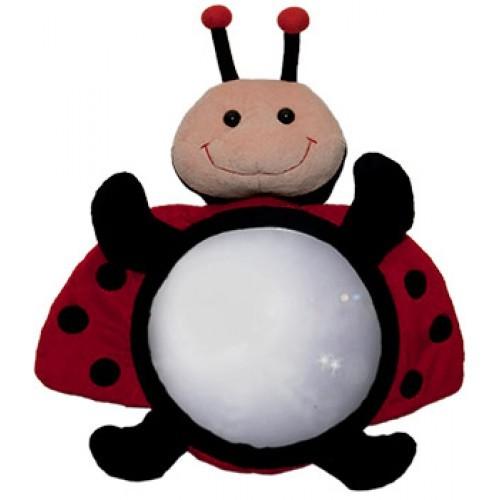 Moose Baby Back Seat Mirror - Ladybug