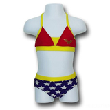 Wonder Woman Girl's Bikini Set (12-18 Months)