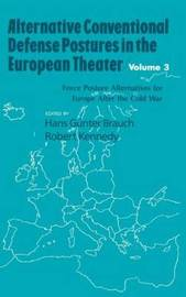 Alternative Conventional Defense Postures In The European Theater image