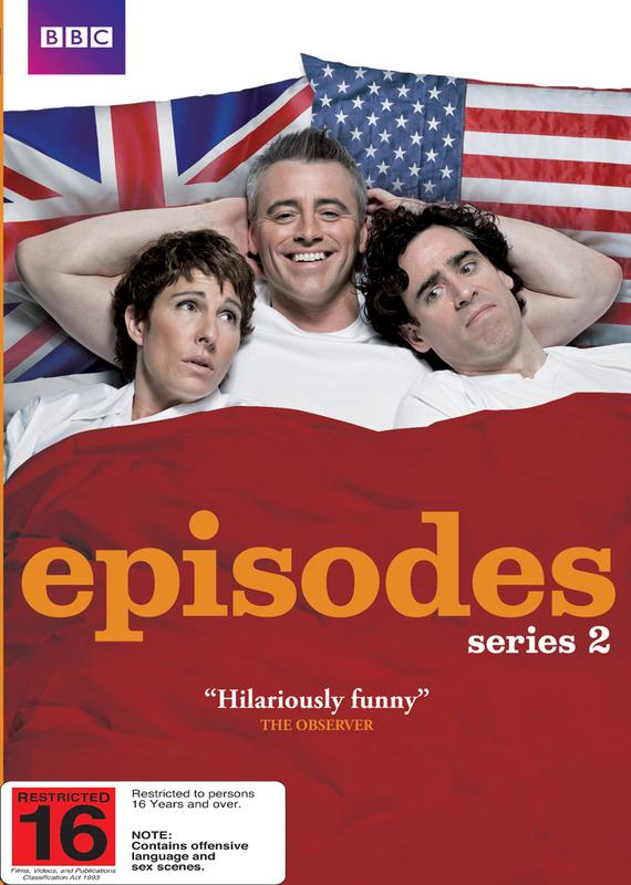 Episodes - Series 2 on DVD