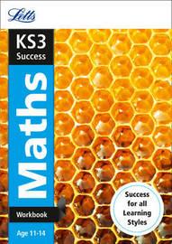 KS3 Maths Workbook by Letts KS3