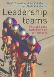 Leadership Teams by Geoff Sheard