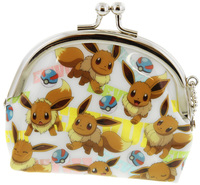Pokemon: Round Clasp Coin Purse Eevee