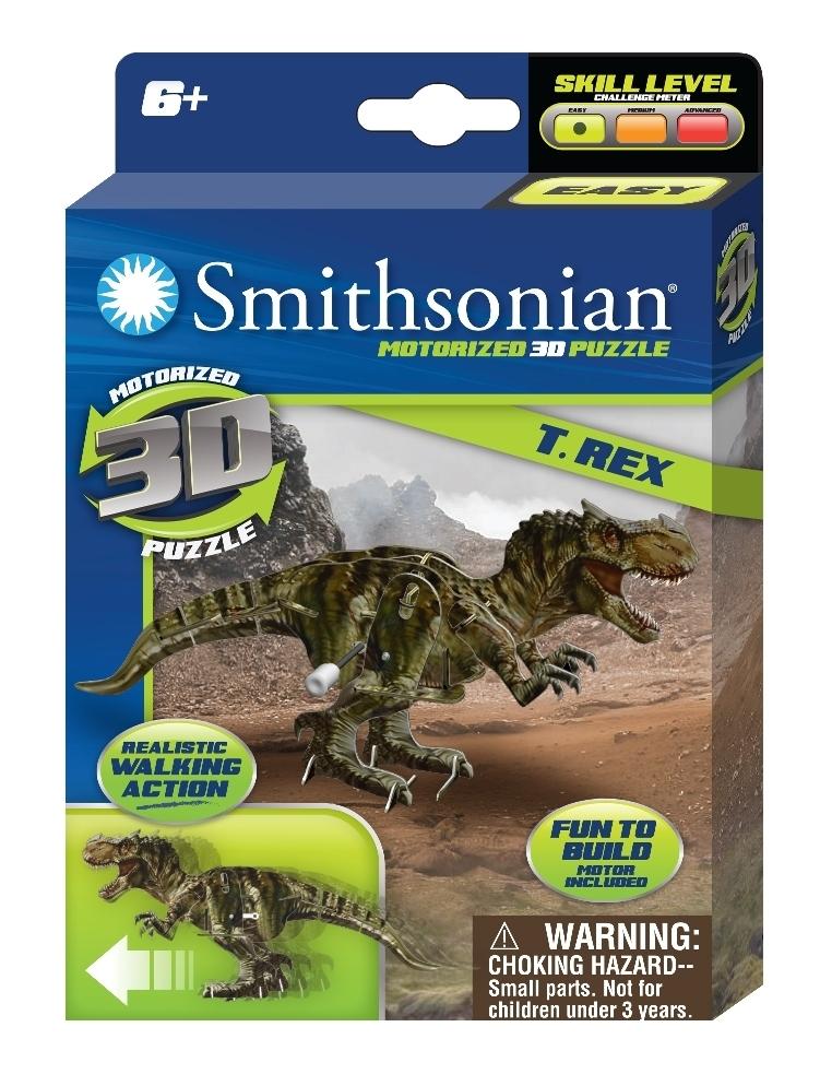Smithsonian: Dinosaur Wind Up Puzzle - Assortment image