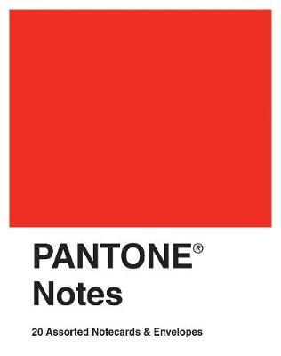 Pantone Notes Notecards (20 Cards/Envelopes) by Chronicle Books