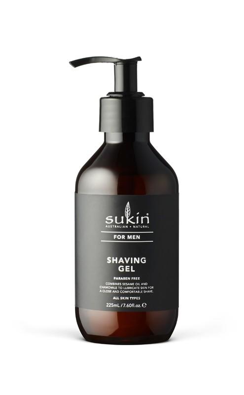 Sukin for Men Shaving Gel (225ml)
