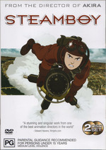 Steamboy (2 Disc Set) on DVD