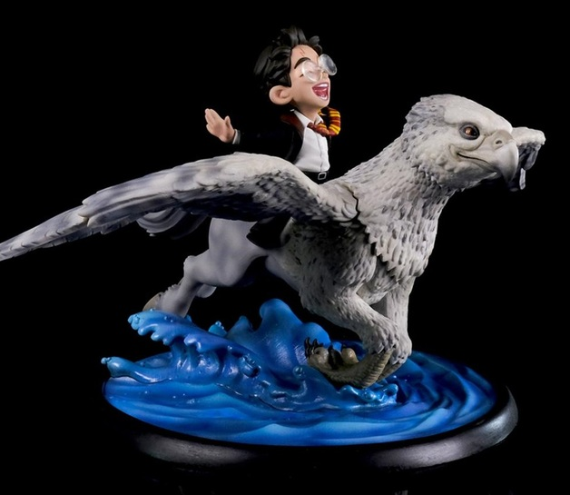 "Harry Potter: Harry & Buckbeak - 5"" Q-Fig Figure"