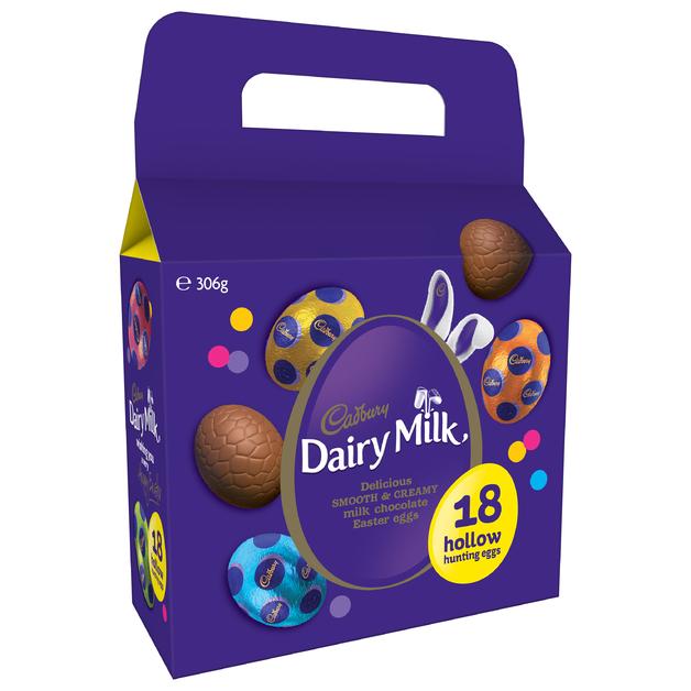 Cadbury Dairy Milk Carry Pack 18pk