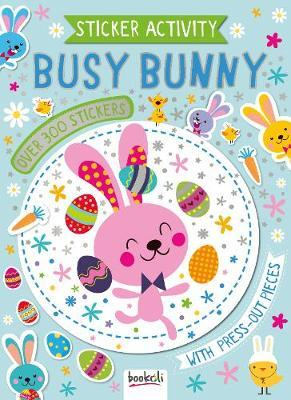 Easter: Sticker & Activity Book - Busy Bunny image