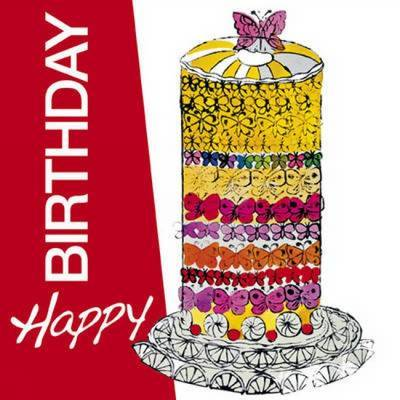 Happy Birthday by Valeria Manferto De Fabianis