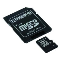 32GB Kingston - MicroSDHC Card with SD Adapter (Class 4) image