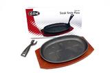 Cast Iron Steak Sizzle Plate