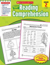 Scholastic Success with Reading Comprehension, Grade 2 by Robin Wolfe image